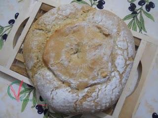 Pan de Auvernia, vista superior.