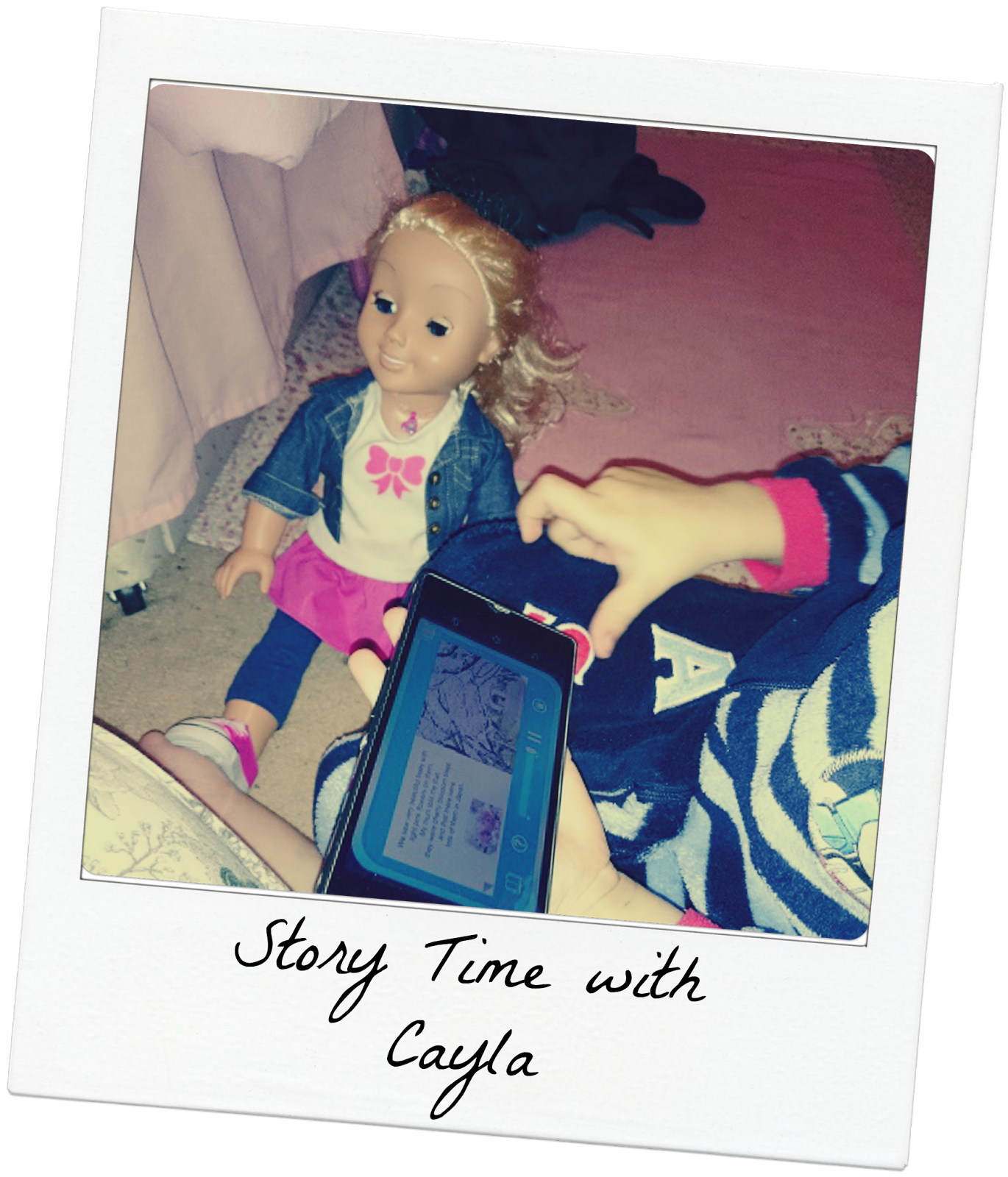 My friend Cayla, story telling doll, interactive doll