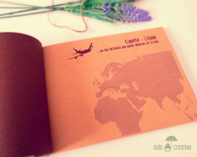 libro de firmas despedida mision Gota Creativa