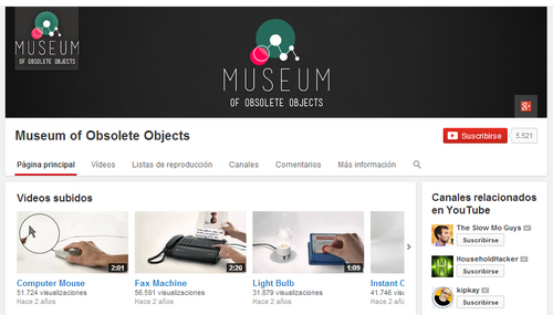 El Museo de los Objetos Obsoletos: La tecnología de ayer para los chicos de hoy