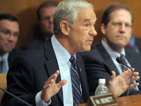 Texas congressman Ron Paul