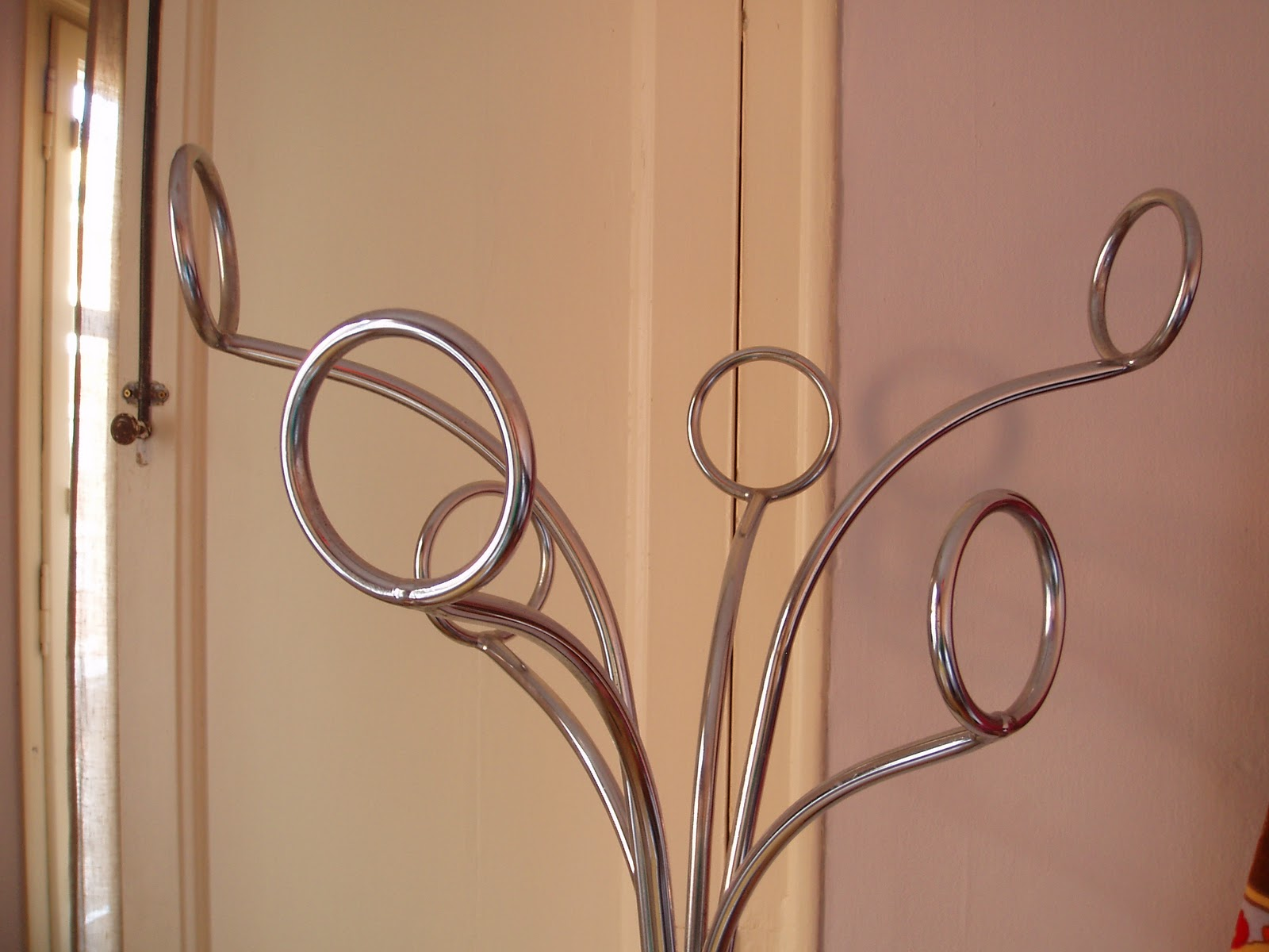 Vintagevictim perchero de acero cromado ref vv2529 - Percheros de acero ...