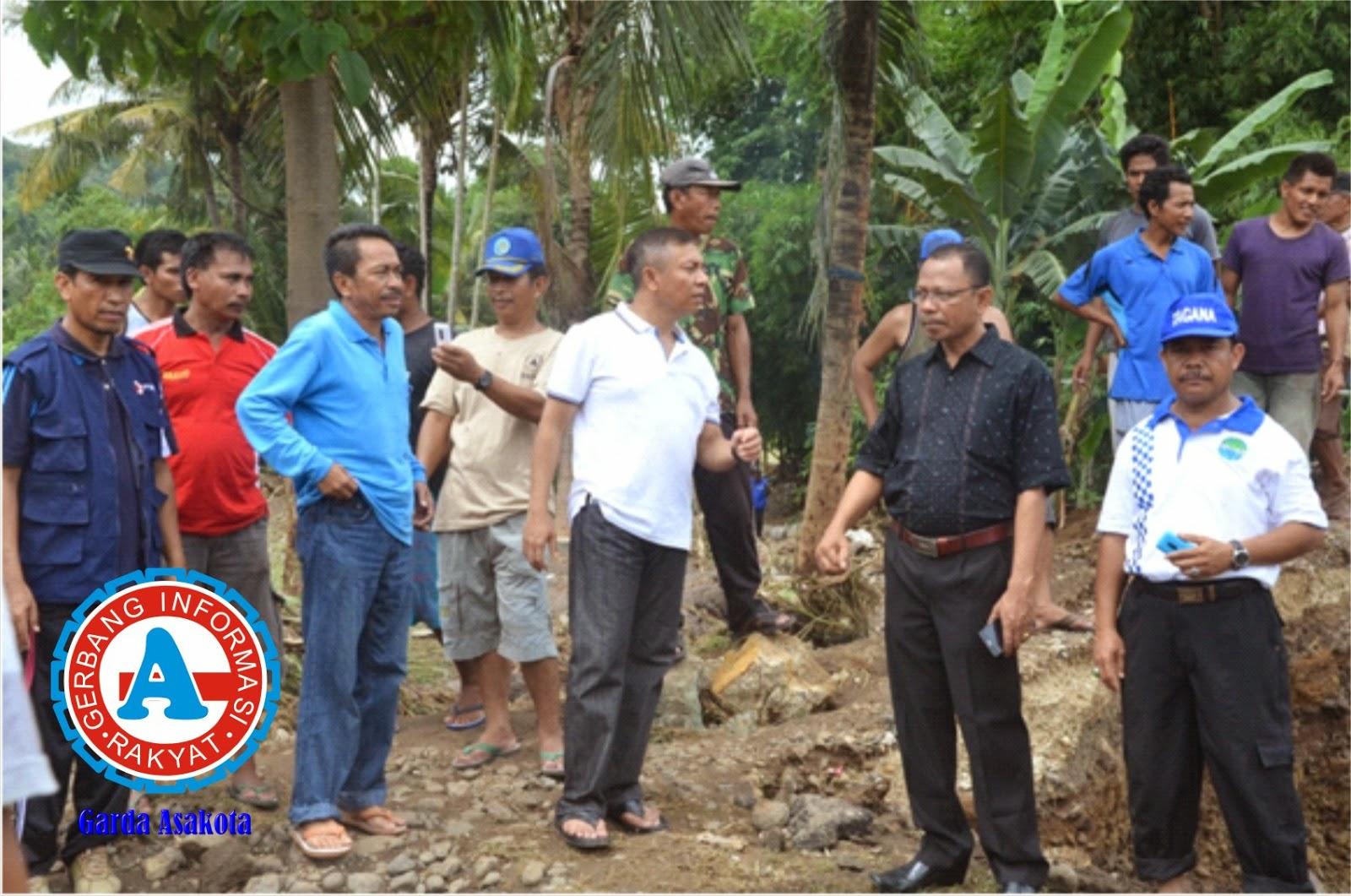Banjir Melanda Kota Bima Empat Rumah Warga Hanyut