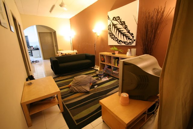 Dekorasi rumah flat ask home design for Design apartment kecil