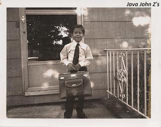 John Going to School
