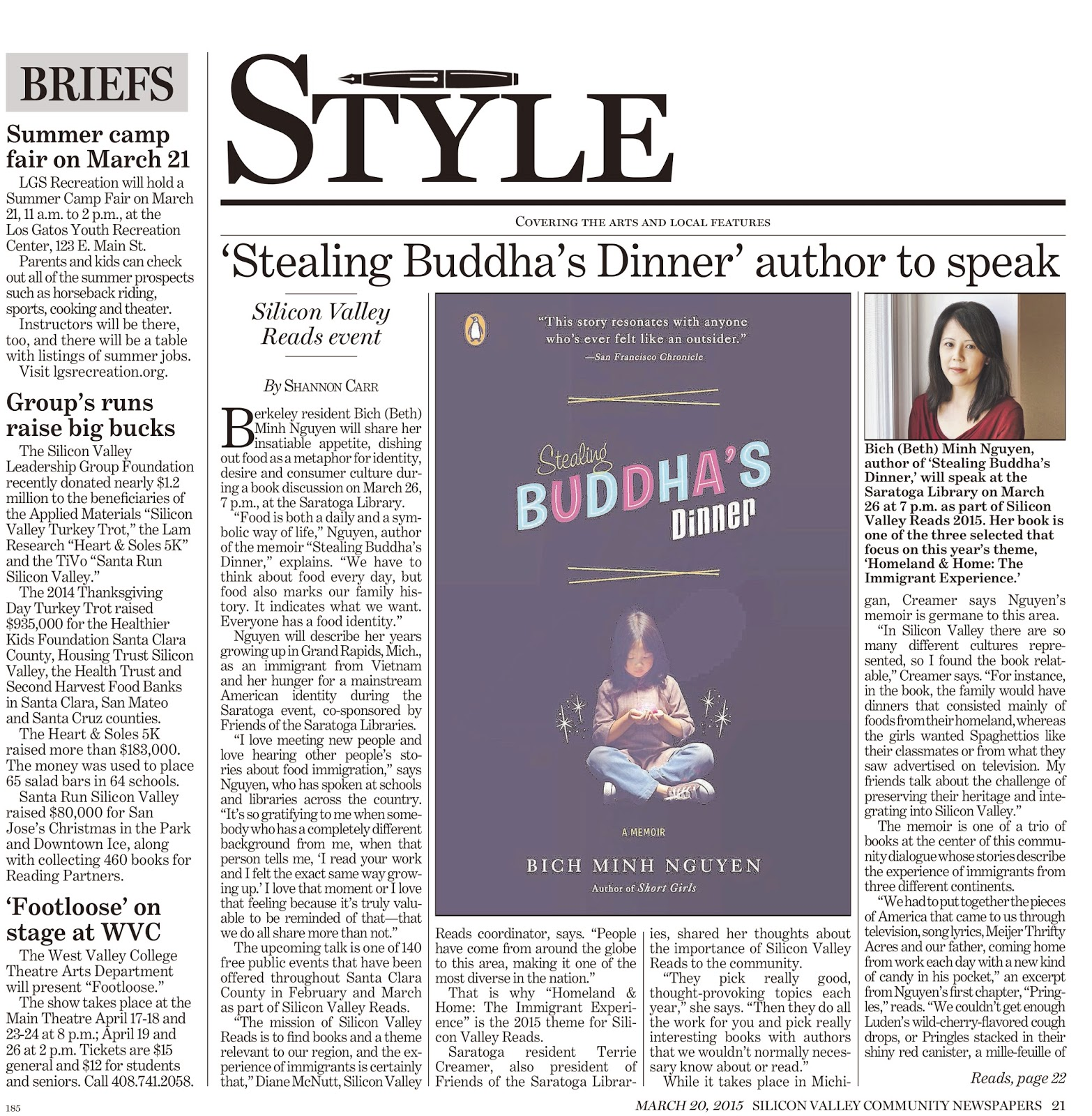 stealing buddhas dinner essay The book stealing buddhas dinner a memoir by nguyen bich minh 2008 paperback by only can help you to realize having the book to read every time.