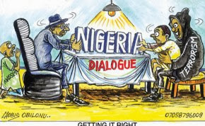 NIGERIA OFFERS OLIVE BRANCH: ANY CHANCE FOR PEACE?
