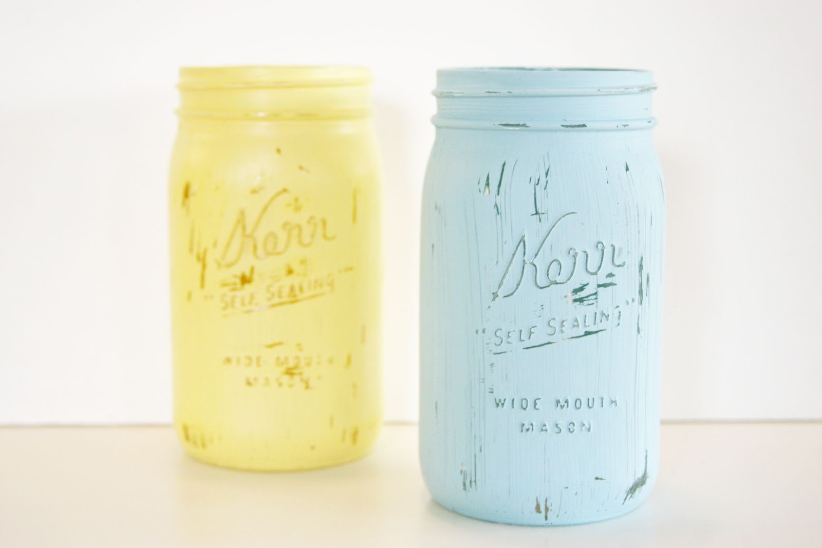 mason jars painted - photo #9