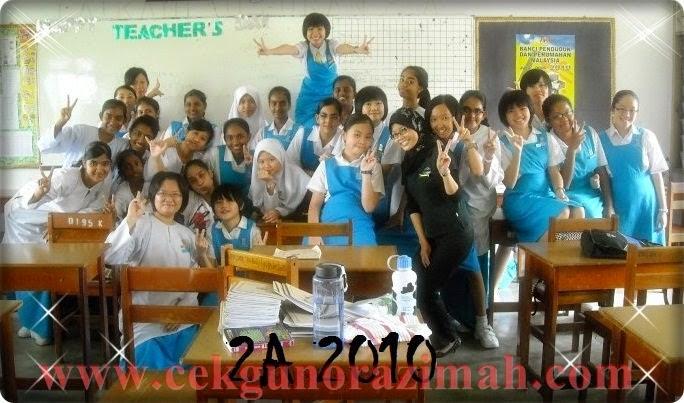 2010 : 2A di SMK St Mary