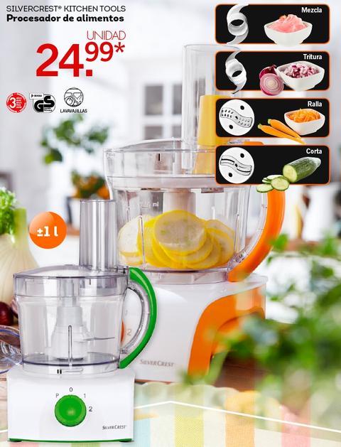 Lidl catalogo procesador de alimentos lidl silvercrest for Que es un procesador de alimentos