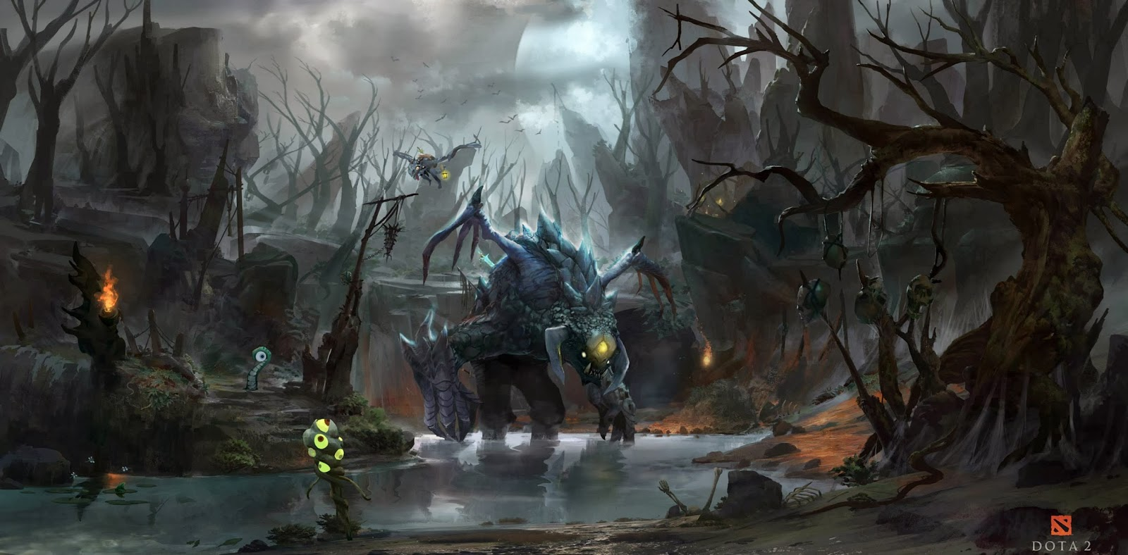 dota 2 wallpapers dota 2 wallpaper hd roshan