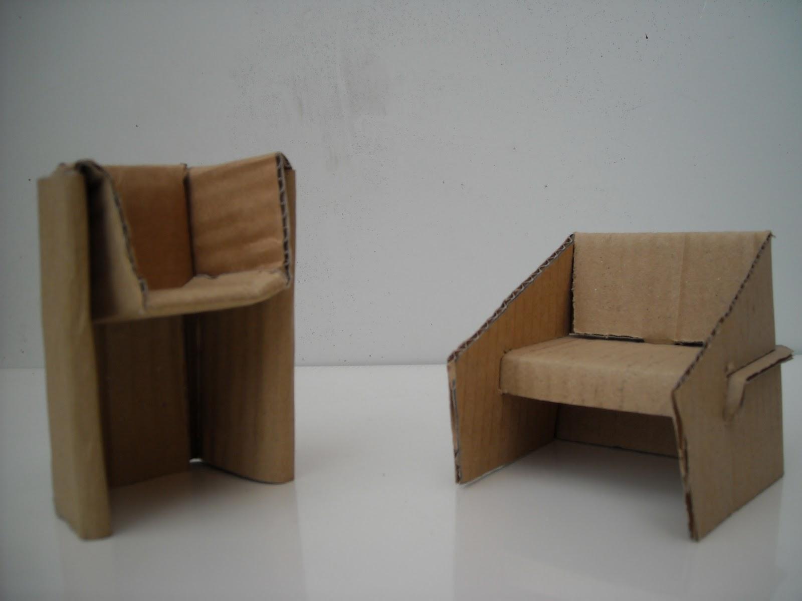 Como hacer muebles de papel para maquetas imagui como - Muebles de papel ...