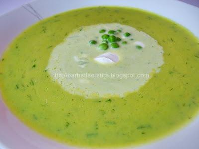 Supa crema de mazare reteta
