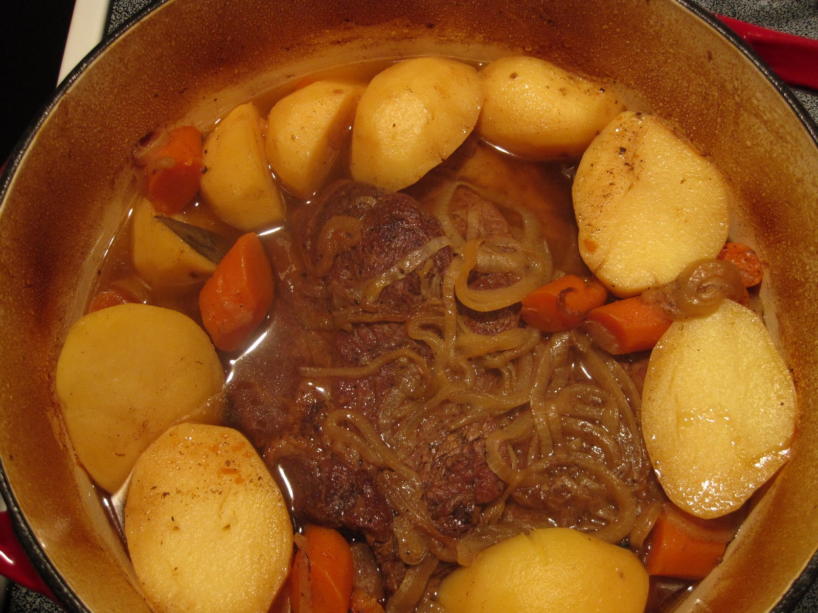 How To Cook A Tender, Oven Braised, Beef Pot Roast