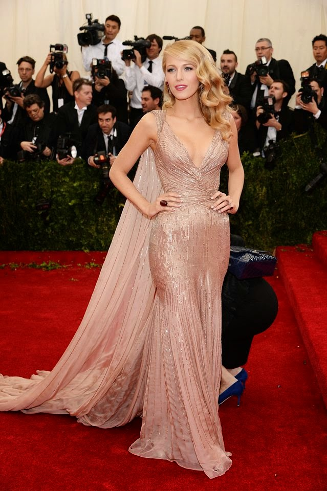 Red Carpet Met Gala 2014 blake lively