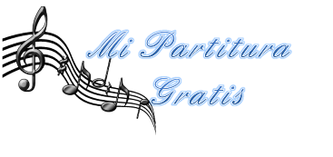 Mi Partitura Gratis para Piano en PDF My Free Sheet Music Online
