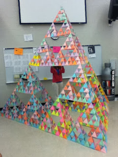 Sierpinski Pyramid on Pinterest