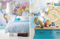 paredes con mapas