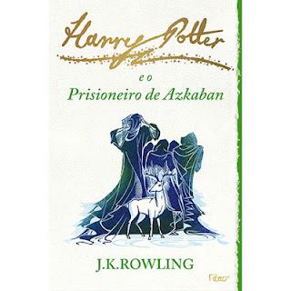 harry potter livro nova capa prisioneiro de azkaban