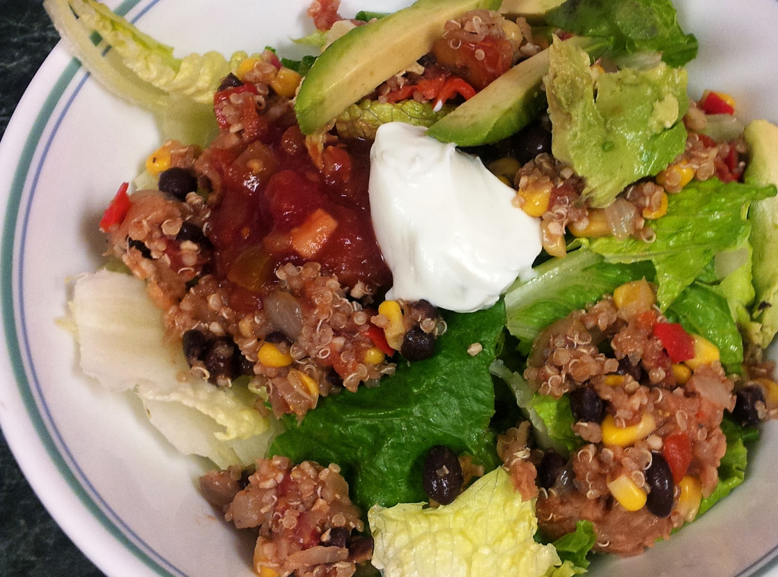 Debbi Does Dinner... Healthy & Low Calorie: Mexican Quinoa Salad