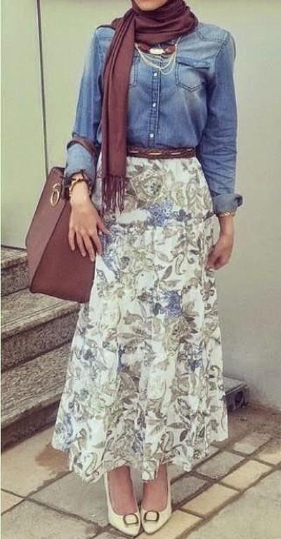 Tenue hijab style 2014