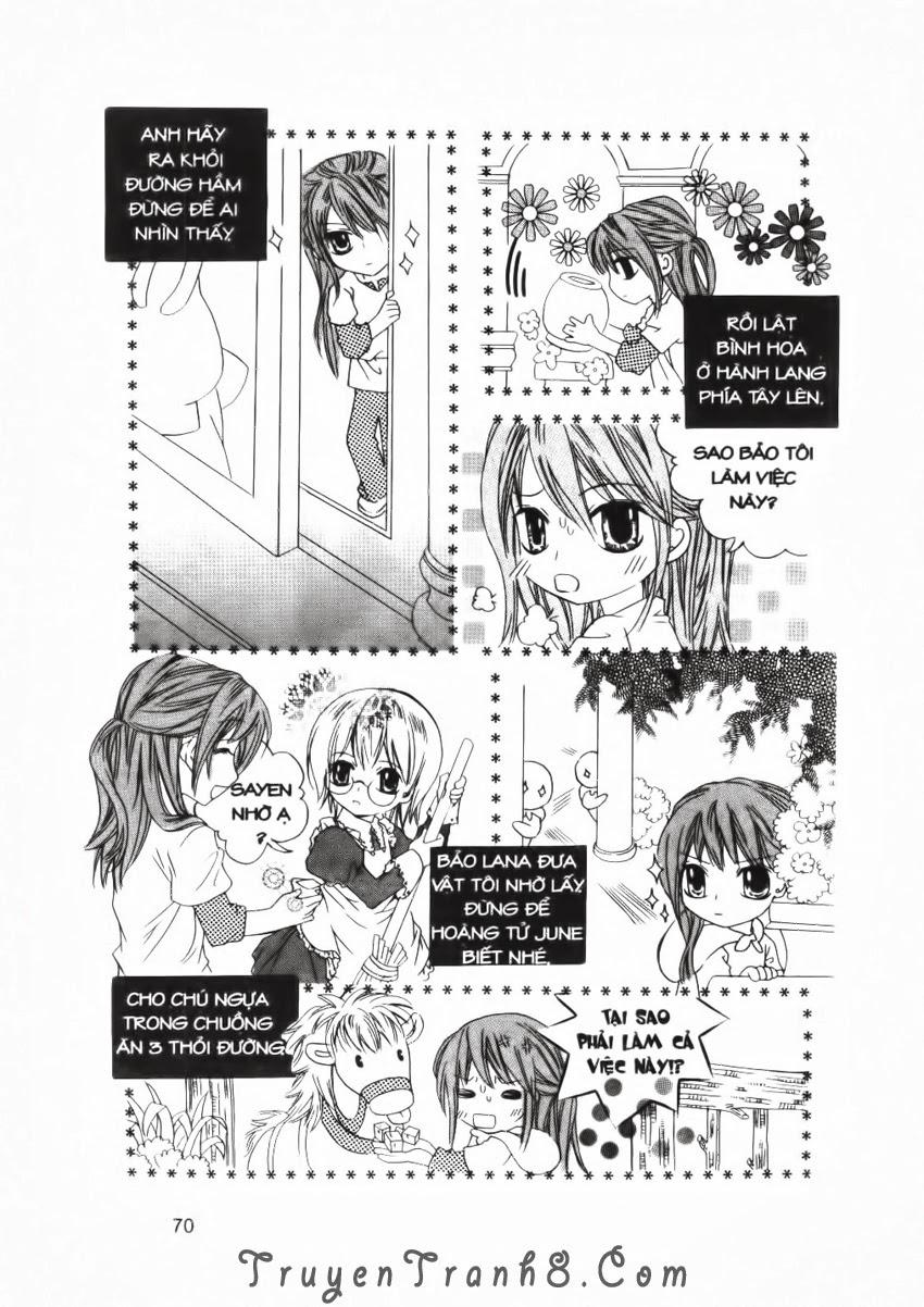 A Kiss For My Prince - Nụ Hôn Hoàng Tử Chapter 24 - Trang 35