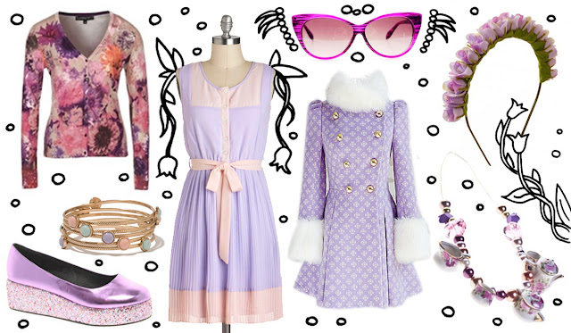 trend, fashion, lilac, 2013, spring