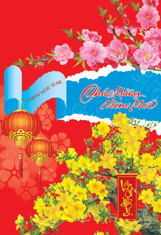 Thiệp chúc mừng năm mới đẹp và độc đáo - Hình ảnh 9