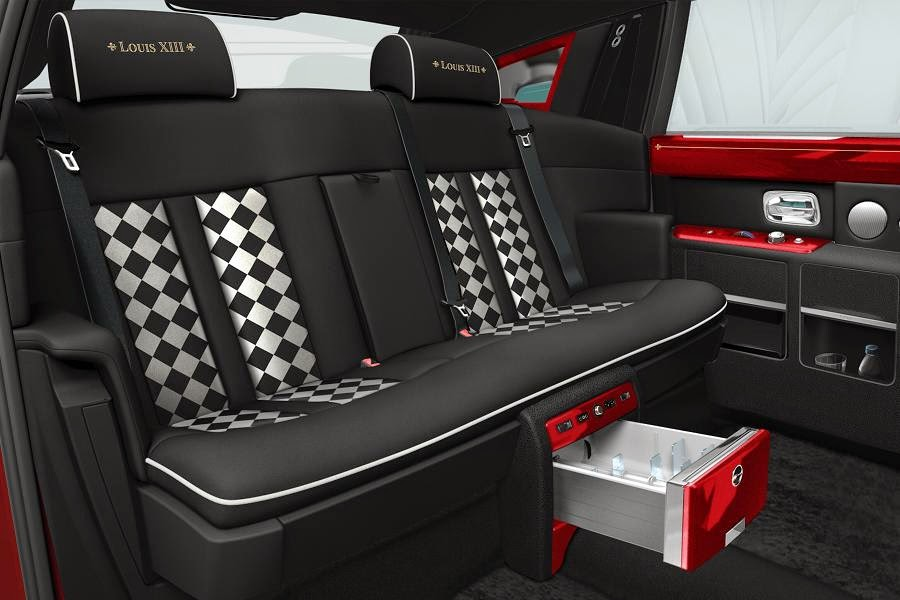 Rolls-Royce Phantom Extended Wheelbase Louis XIII (2014) Rear Seats