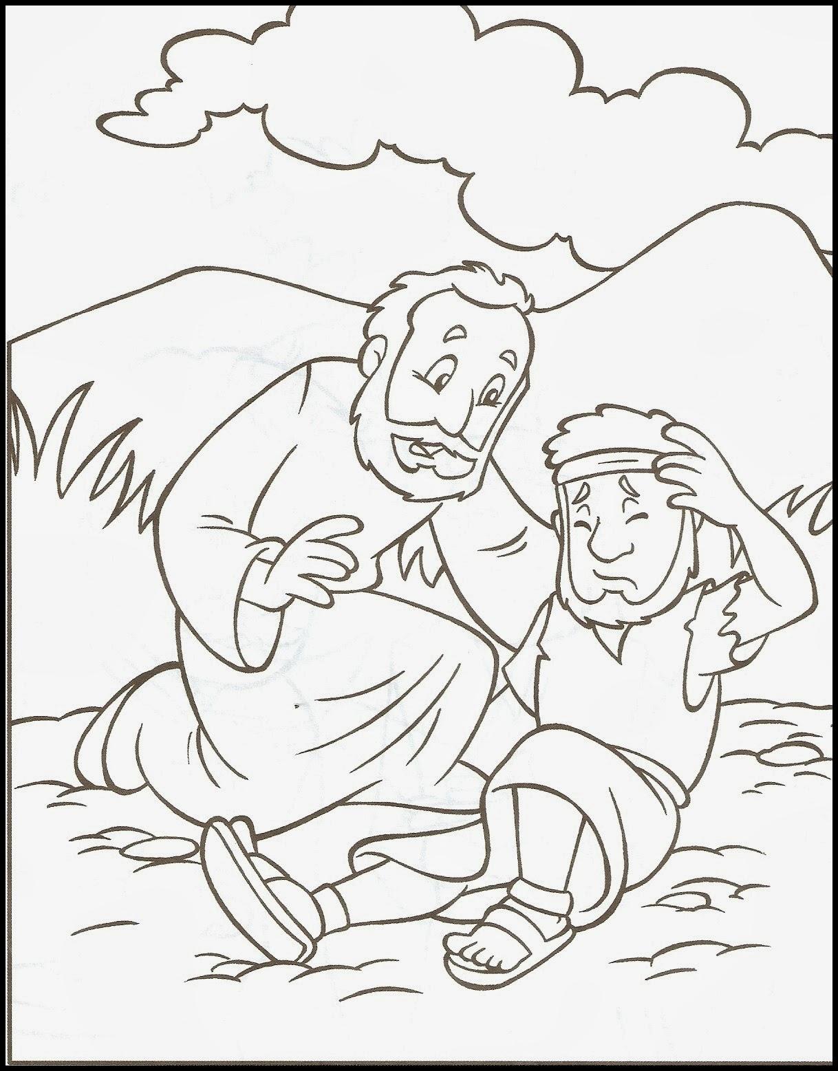 catequista wânia parábola do bom samaritano