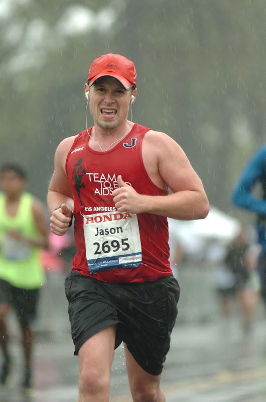 Jason running LA Marathon 2011