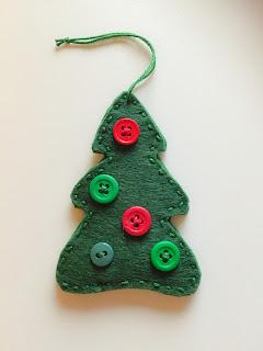 felt decoration christmas julpyssel barn diy