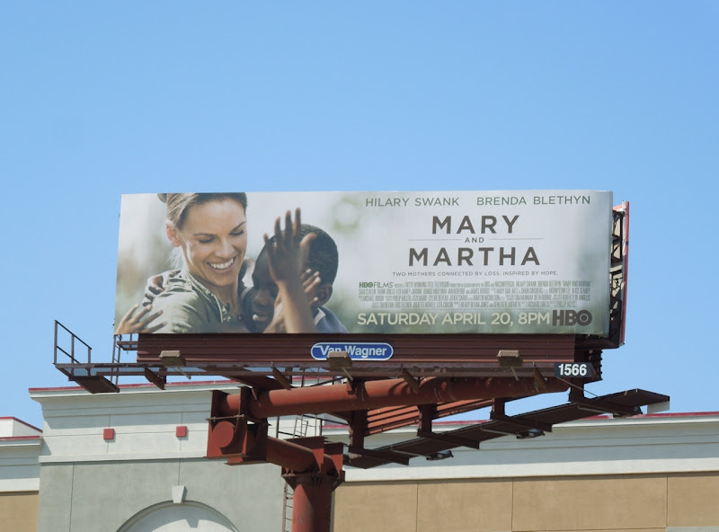 Mary Martha HBO billboard