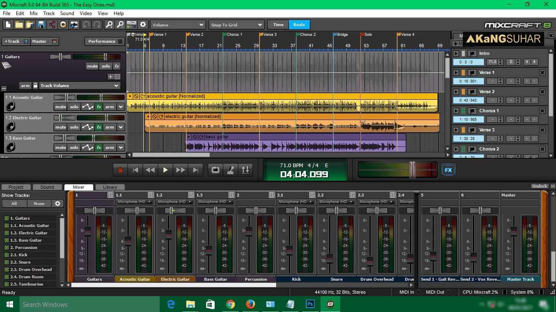 Mixcraft 8.2 Crack & License Key Free Download