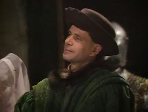 Actor Robert East, in 'Black Adder'