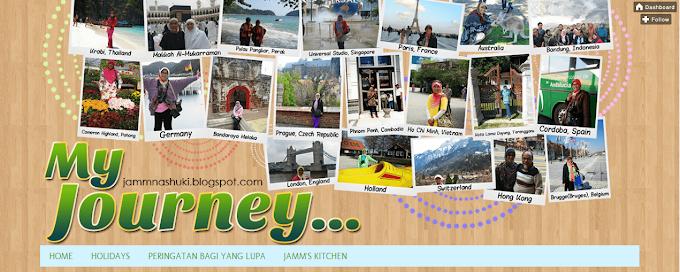 Tempahan Design Blog My Journey