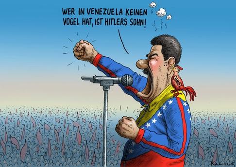 maduro political cartoon,politcal cartoon