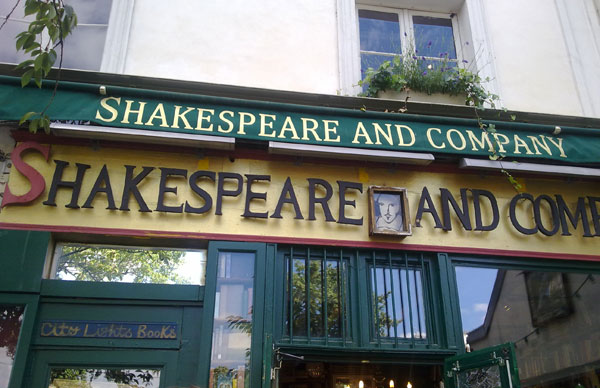 libreria shakespeare co paris