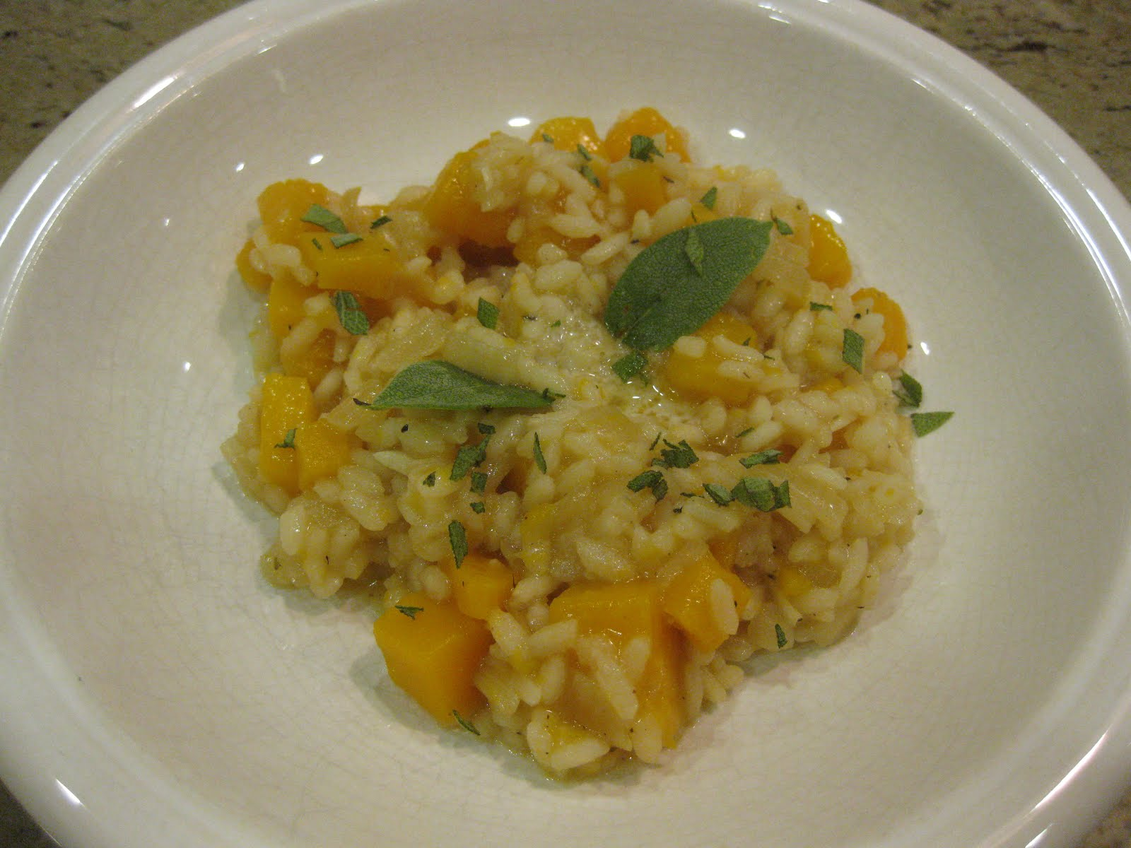 The Family Chef: Butternut Squash Risotto