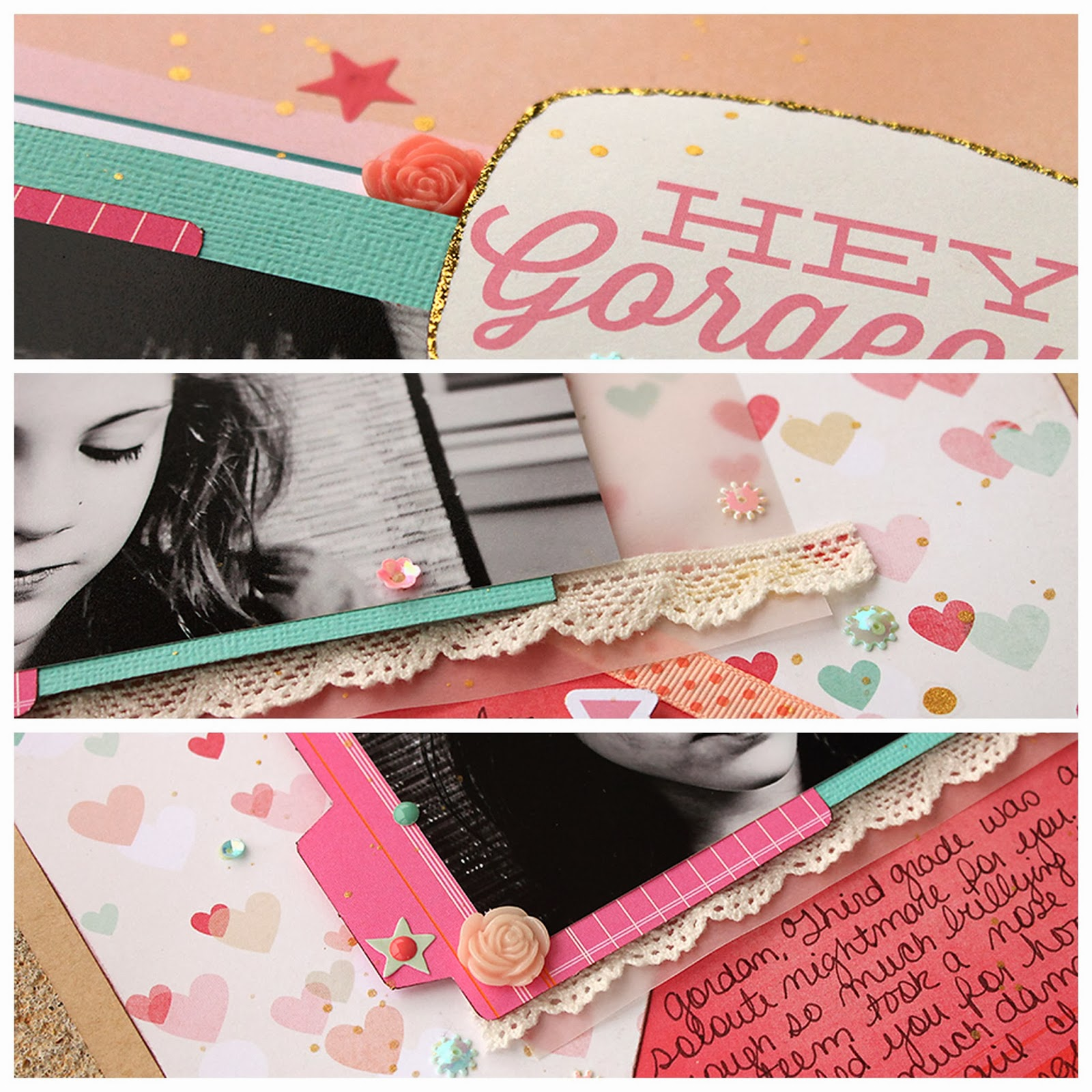Detail Shots_Bullying Layout_Scrapbook