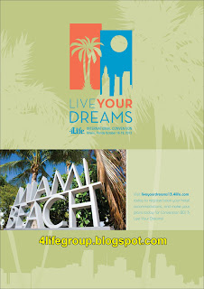 'Live Your Dreams : 4Life International Convention Miami Florida 2013