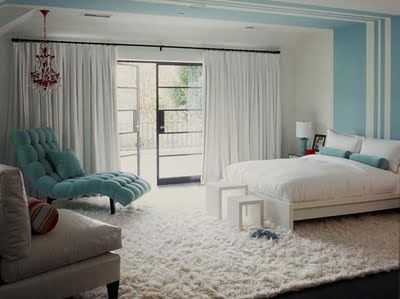 Turquoise Aqua Bedroom Interior Design Decor Jpg