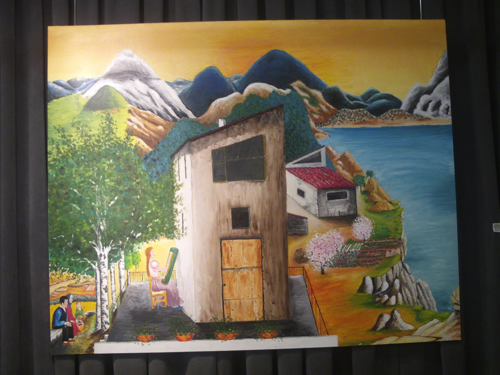 Arte pan el arte como alimento de la cultura exposici - Pintores en terrassa ...