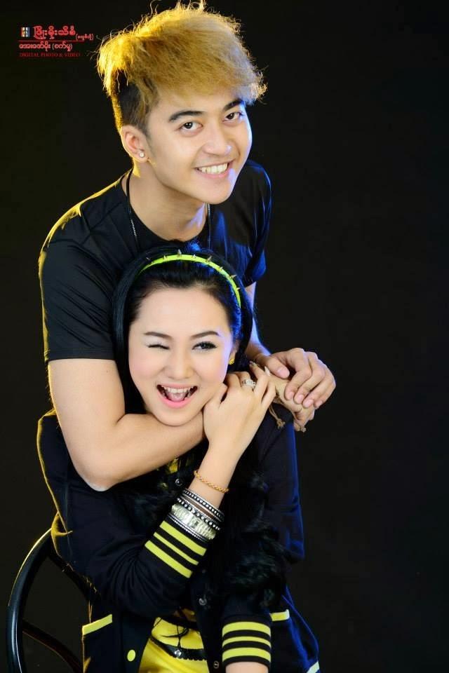 Myanmar Beautiful couple model