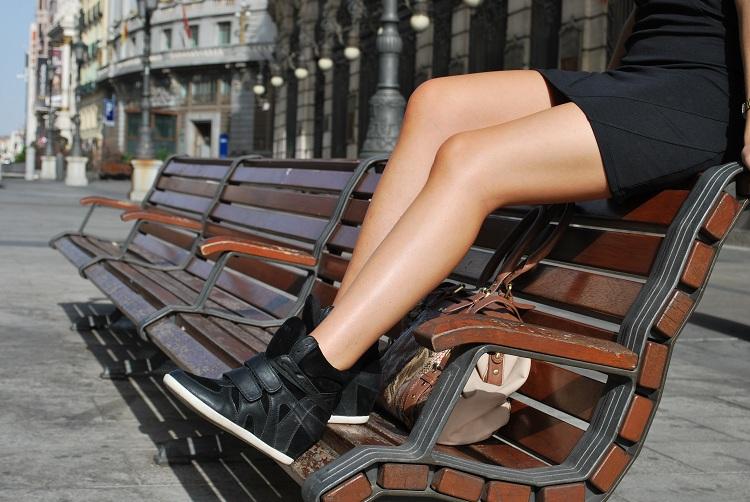 Sneakers con plataforma