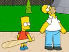 Simpsons Fırlat Oyunu
