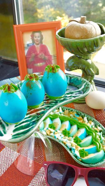 Fanny Cradock Blue Eggs