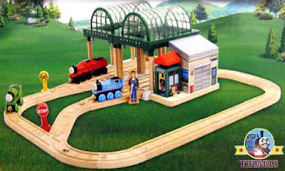 James Percy Thomas the tank engine and friends sayings Talking Thomas wooden railway set toy train