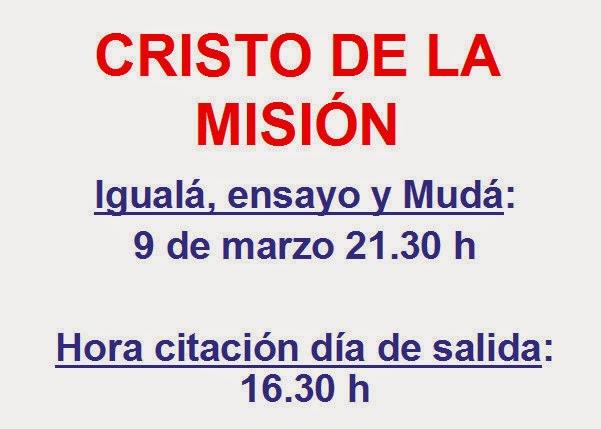 FECHAS DE CUARESMA (s.e.uo.)