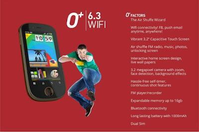 o plus wifi phones in the Philippines